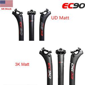 3K-UD-Carbon-Fiber-Bicycle-Seat-Post-Tube-Seatpost-Suitable-Mountain-Road-Bike