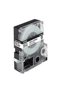 Beschriftungsband EPSON sw auf weiß 9mm LC3WBN9 C53S624402 LW-300 400 LW900