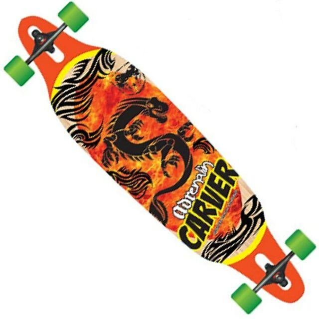 Adrenalin Carver Drop-Thru Street 38 Inch Skateboard
