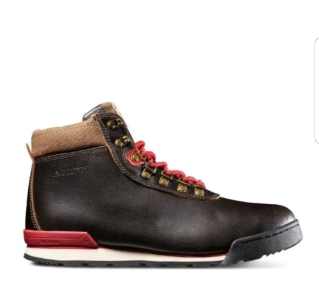 Rigemont Mens Heritage Boots - Java Red Size