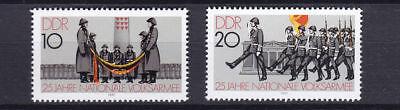Sporting Briefmarken Ddr 2580-2581, Postfrisch, 25 Jahre Nva