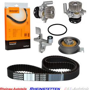 CONTI-Zahnriemen-2xSpann-Umlenkrolle-Wasserpumpe-AUDI-A4-A6-VW-PASSAT-1-8-T-Mot