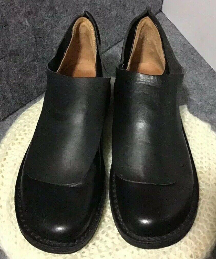 Triplen Germany Mens Dress nero Leather Slip on scarpe w   Magnetic Flap EU39  sport dello shopping online