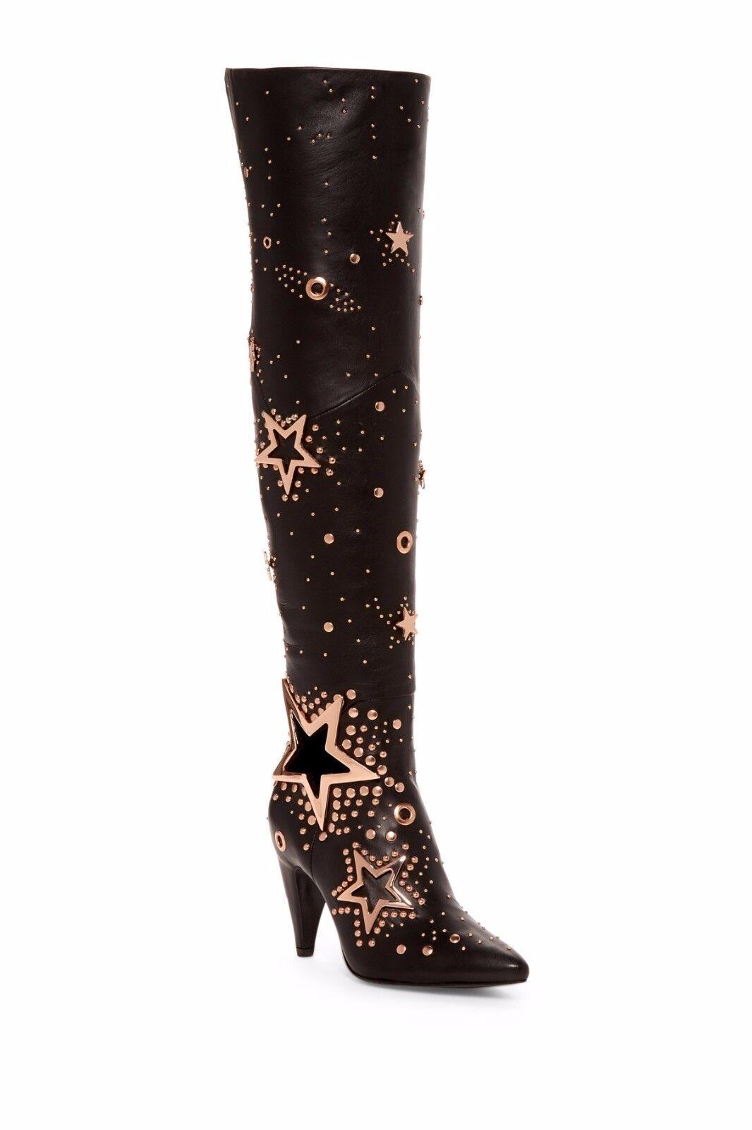 varie dimensioni  995 Ivy Kirzhner Stardust Over-the-Knee Over-the-Knee Over-the-Knee Donna  avvio nero Leather Dimensione 6  qualità garantita