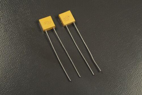 Lot of 2 CKR06BX105KR AVX Capacitor 1 uF µF 10/% 50V Radial M39014//02-1415 NOS