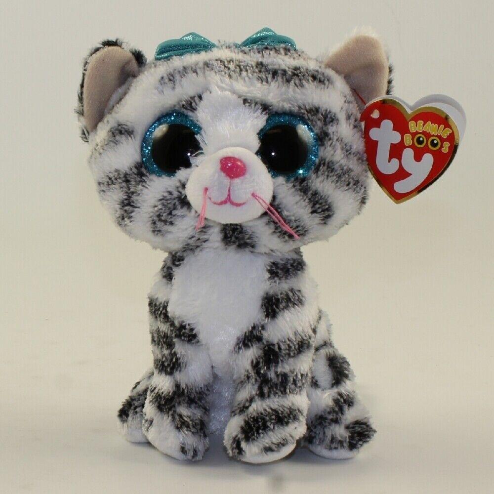 TY Beanie Boos Boos Boos - QUINN the Cat(6 inch) ODDITY