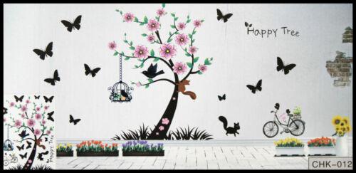 3D Tree Wall Sticker decals Home Decor Decoration Wallpaper Room Art
