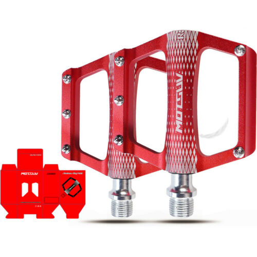 Lightweight MTB Road Bike Bicycle Pedals Platform Sealed Bearings Aluminum Alloy