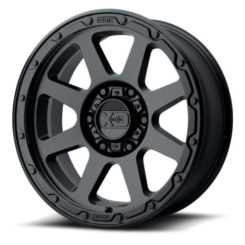 "17/"" XD Series XD134 Addict 2 Black Wheel 17x9 5x5 18mm Jeep Wrangler 5 Lug Truck"