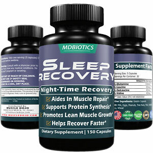 Sleep Recovery BCAA -Muscle Recovery, Growth, Repair* GMO ...