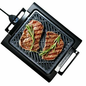 Granite Stone Smokeless Indoor Grill with Nonstick Surface, Dishwasher Safe -NEW