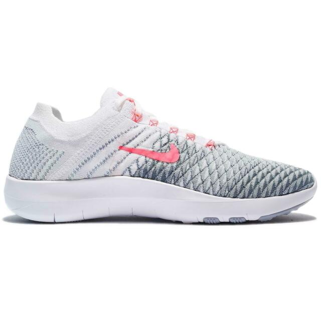 huge discount 1d31b 1752e Womens NIKE FREE TR FLYKNIT 2 White Running Trainers 904658 100