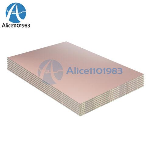 2PCS 10*15cm 10cmx15cm Single PCB Copper Clad Laminate Board FR4