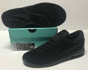 Details about NIKE SB AIR MAX BRUIN VAPOR #882097 003 BLACK BLACK ANTHRACITE