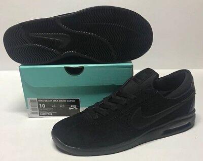 NIKE SB AIR MAX BRUIN VAPOR #882097 003 BLACK BLACK ANTHRACITE | eBay