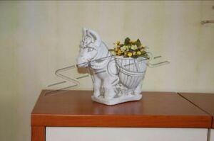 Blumenkübel Pflanz Kübel Dekoration Figur Blumentöpfe Garten Vasen Gefäss 543