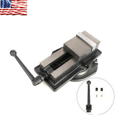 4 Milling Machine Lockdown Vise Swiveling Base Precision Scale Clamping Vise Us