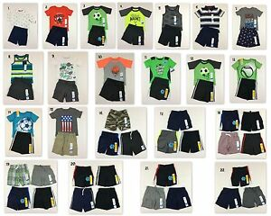 ff258d448 Jumping Beans Carter s NWT Boys 2T Shorts Outfits Toddler Shorts ...