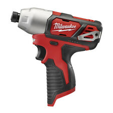 """Milwaukee M12 1/4"""" Hex Impact Driver (Tool Only) 2462-80 Certified Refurbished"""