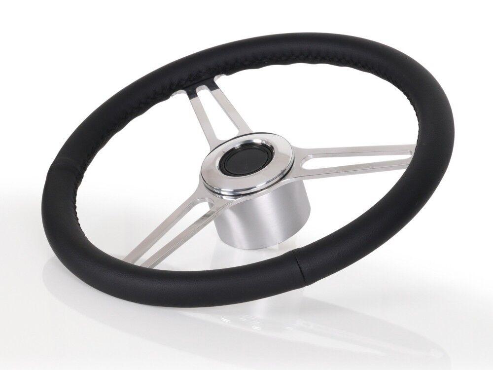 Premium Stiefellenkrad Trecenta für Larson mit Teleflex Ultraflex Lenkung 50503000