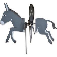 "Donkey 17"" Whirligig Petite Staked Wind Spinner PR 25172"