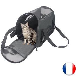 Cage Chien Sac Caisse Noir Neuf Main Transport Pas Cher Petit Moyen Chat Voyage