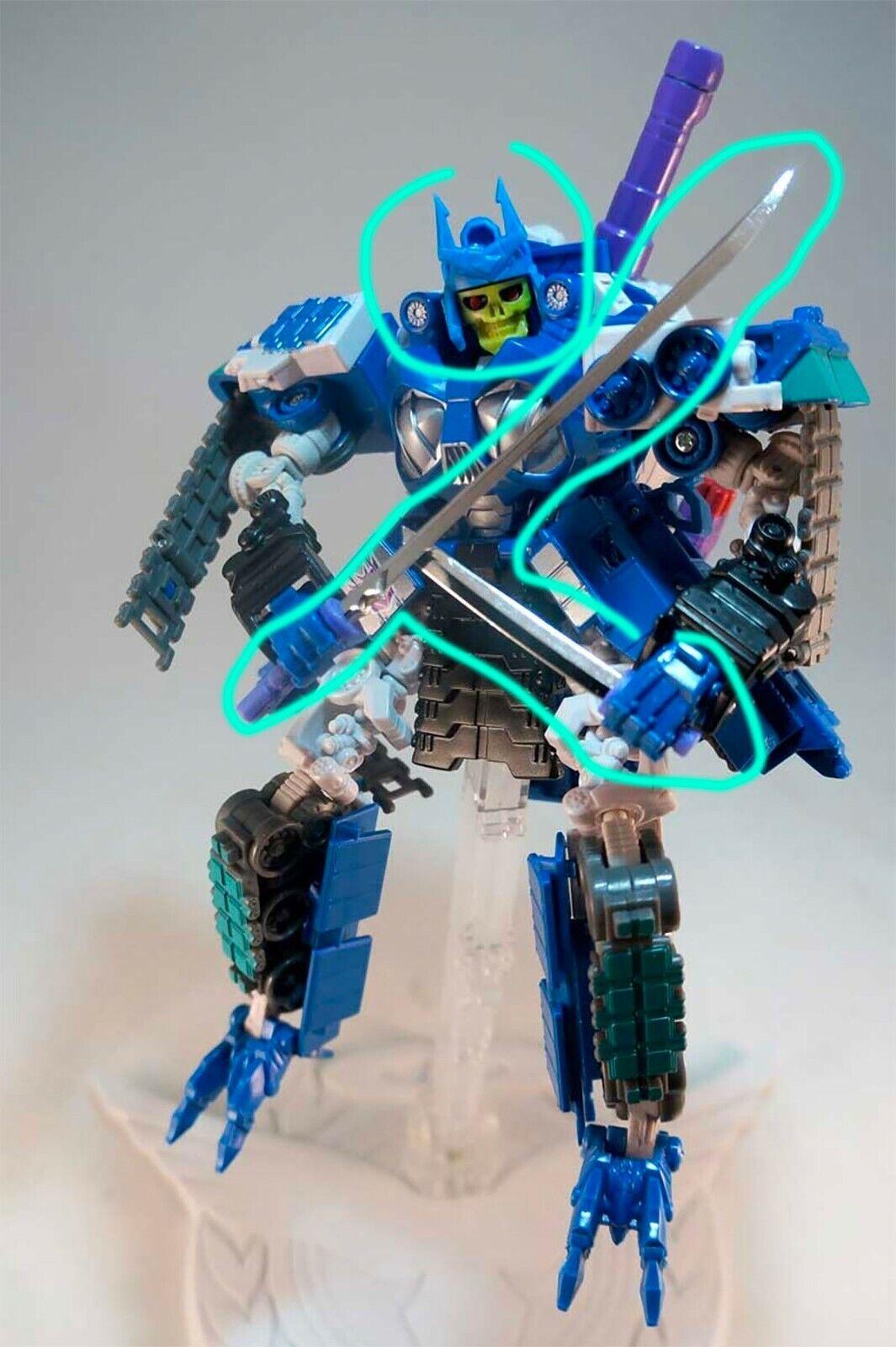 Transformers Headrobots Headmasters SKELETRON skeletor overlord Botcon 2012