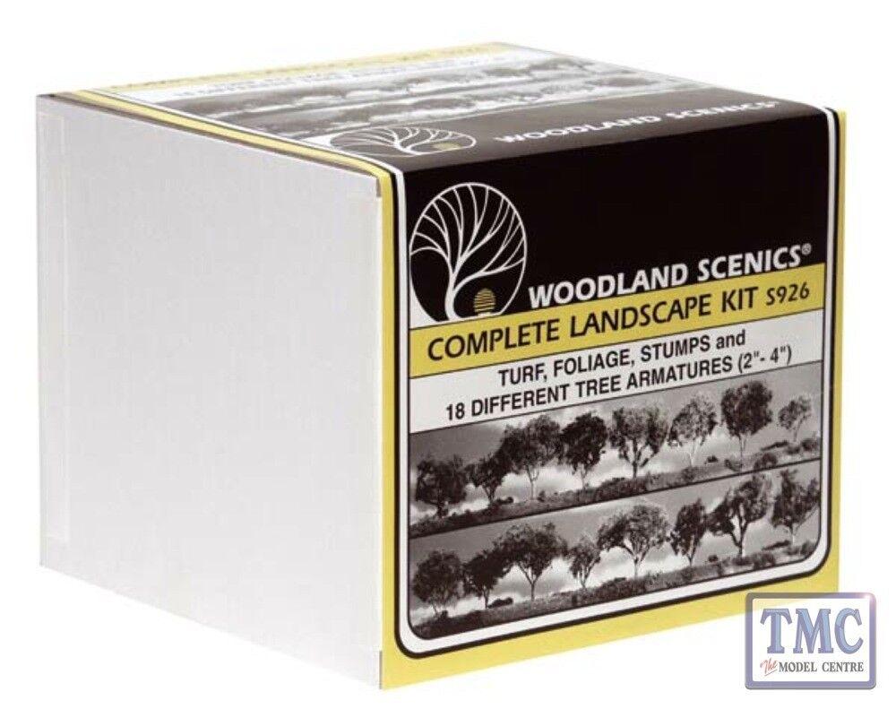 S926 Woodland Scenics Complete Landscape Kit