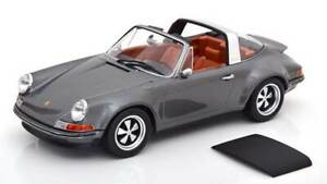 Singer-Porsche-911-Targa-antracita-1-18-KK-scale-180471-Limited-Edition