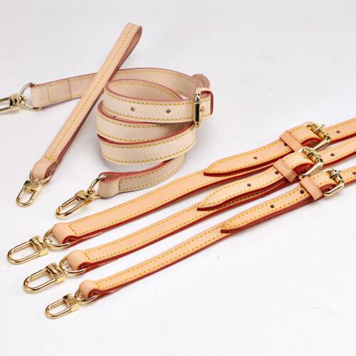 Adjustable Real Leather Replacement Shoulder Crossbody Strap Handbags Bag Purse