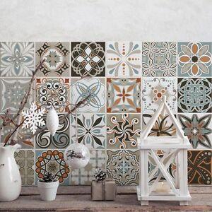 Ps00009 adesivi murali in pvc per piastrelle per bagno e - Adesivi per piastrelle cucina ...