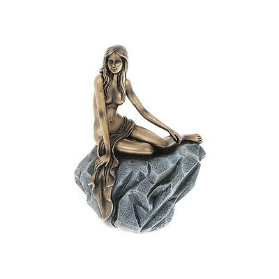 Elegant Aphrodite Bronze Girl Adele Figurine Gift Ornament