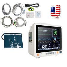 U Medical Patient Monitor 6parameter Icu Ccu Vital Sign Cardiac Machine Hospital
