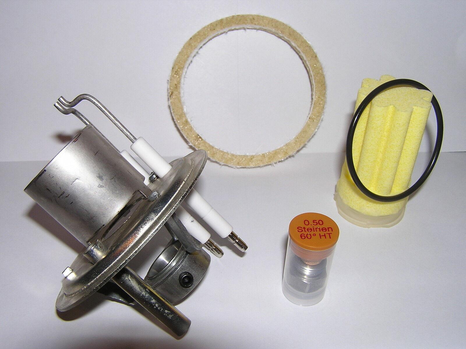Für BUDERUS BRE 1.3 Mischsystem 35KW kpl. Elektroden Düse Dichtung f schwefelarm