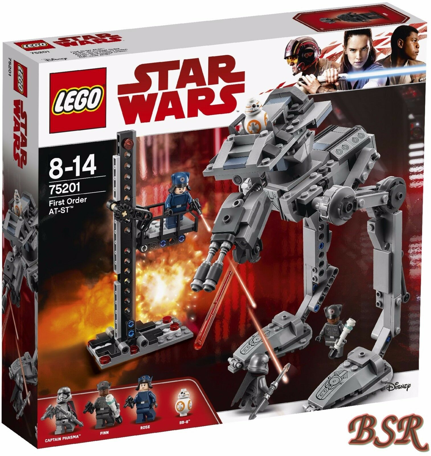 LEGO ® Star Wars ™: 75201 first order AT-ST ™ & 0.€ Spedizione & NUOVO & OVP