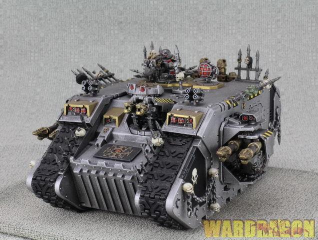 25mm Warhammer  40K WDS Chaos spazio Marines Chaos Le Raider d25  ti renderà soddisfatto