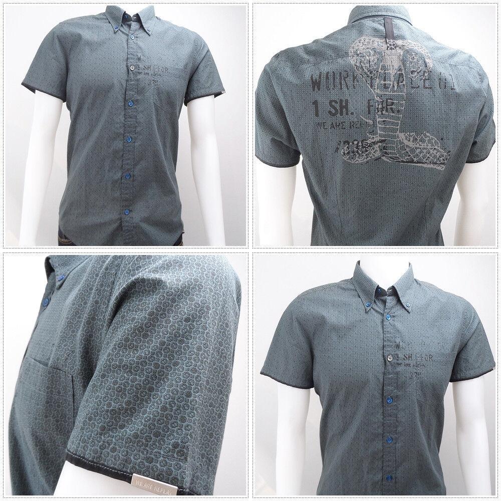 We are Replay Kurzarm Shirt - NEU  199,00 EUR - Hier bei uns für nur 69,99