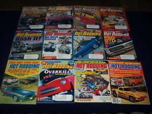 Details about 1970S-2000S POPULAR HOT RODDING MAGAZINE LOT OF 35 ISSUES -  VINTAGE CARS - PB 35
