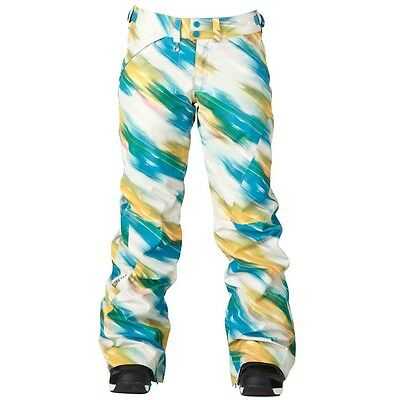 "NEW $280 WOMENS ROXY /""RUSHMORE/"" SNOWBOARD//SKI GORE-TEX PANTS XL"
