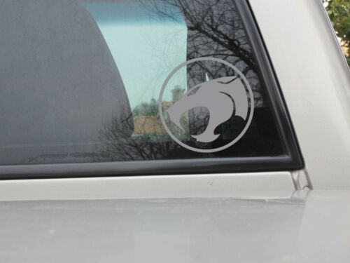 You Choose Sticker Size /& Color Thundercats Logo Vinyl Decal Outlined Version