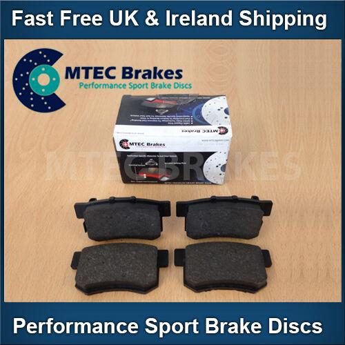 Focus mk2 ST225 2.5 Front Drilled Grooved Black Brake Discs Plus MTEC PADS