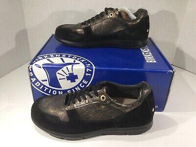 BIRKENSTOCK Cincinnati Women Sz 7 Black Suede Fashion Sneakers Shoes ZB4 601   eBay