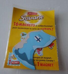 Carte Europe Brossard.Details Sur Magnets Finlande Carte Europe Savane Brossard