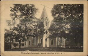Bedford-Hills-NY-ME-Church-c1910-Postcard