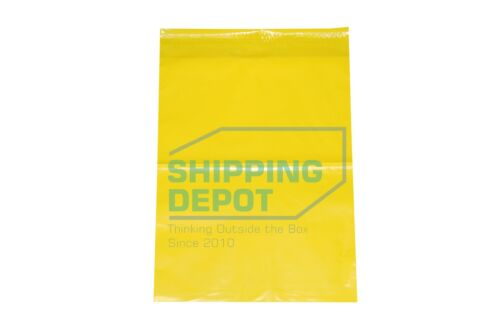 """1-1000 10x13 Yellow Color Designer Poly Mailer Shipping Self Seal Bags 10"""" x 13"""""""