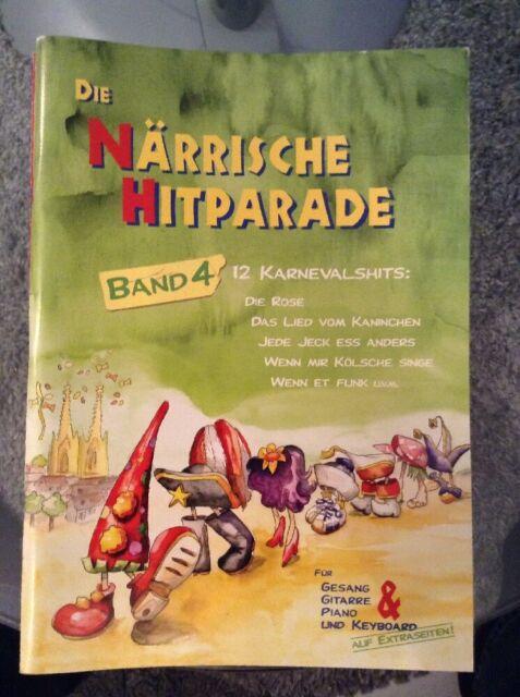 B/22 ** Gerig Musikverlag, Die Närrische Hitparade, Band 4 * neuwertig *