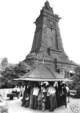 AK, Kyffhäuser, Denkmal mit Brunnen, belebt, 1973