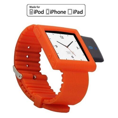 KOKKIA  i10sWatch Bluetooth iPod Transmitter iPod Nano Fashion Tangerine Tango