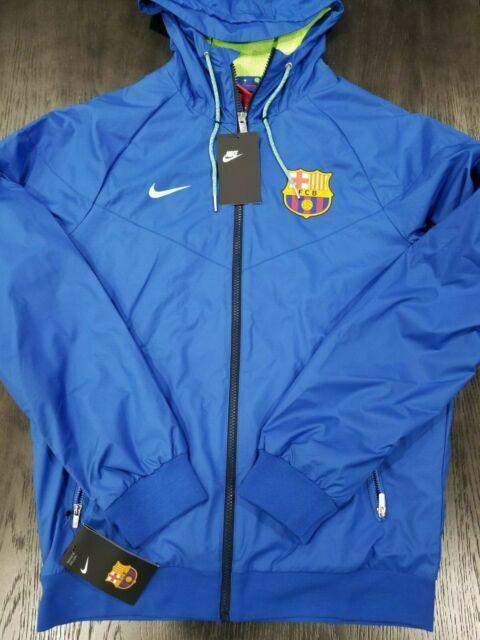 tierra Escalera Bajo  Nike FC Barcelona 2015-2016 Authentic Windrunner Jacket 689949 421 Men's  Small S for sale online | eBay