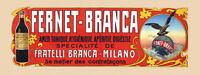 Fernet Branca Eagle Liquor Milan Italy Italia Drink Vintage Poster Repo Free S/h